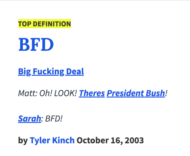 The BFD | Everything You Ever Wanted to Know About the BFD
