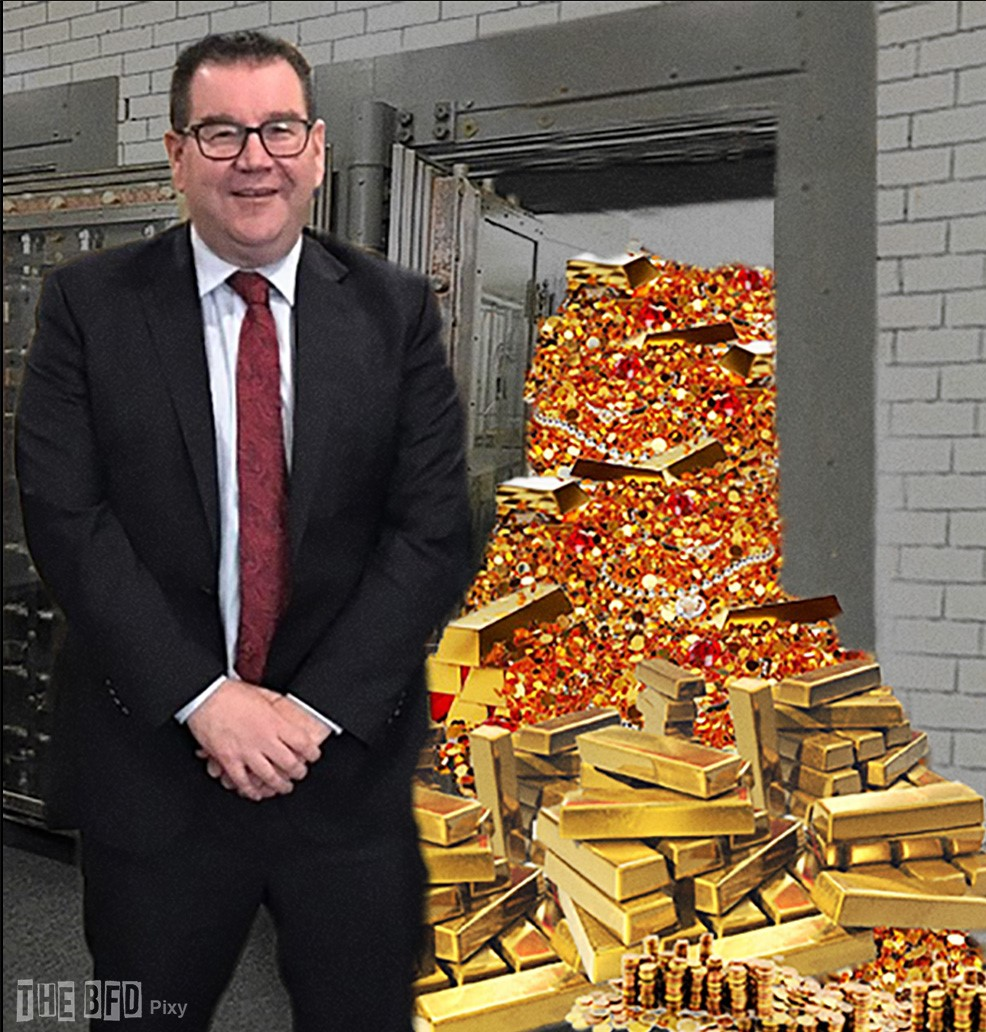 Image result for adrian orr warren robertson government simease twins images
